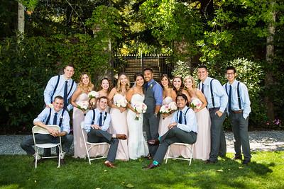 Breana & Dominic - Bridal Party