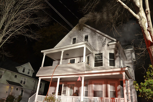 West Springfield, MA 2nd alarm 20-22 Warren St. 11/9/13