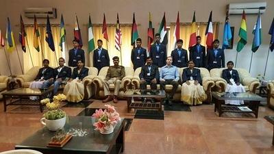 Abujhmarh Tribal Students - CRPF Academy