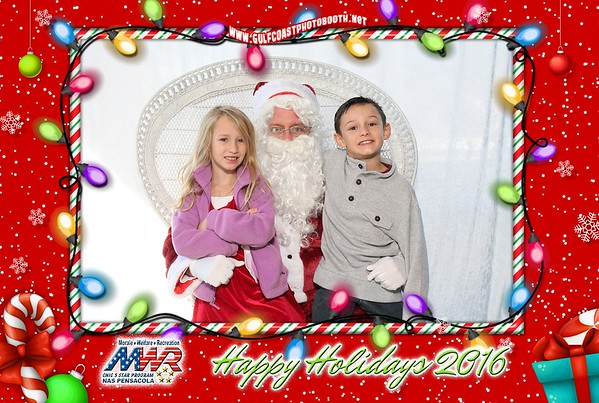 MWR Breakfast With Santa Photo Booth