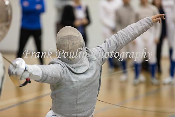 Wellesley College fencing 1/29/2019