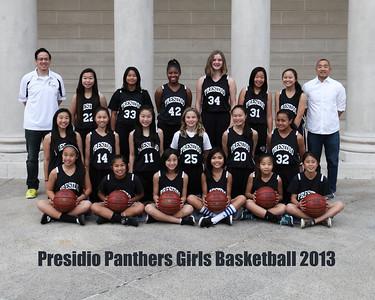 2013 Presidio Girls Basketball