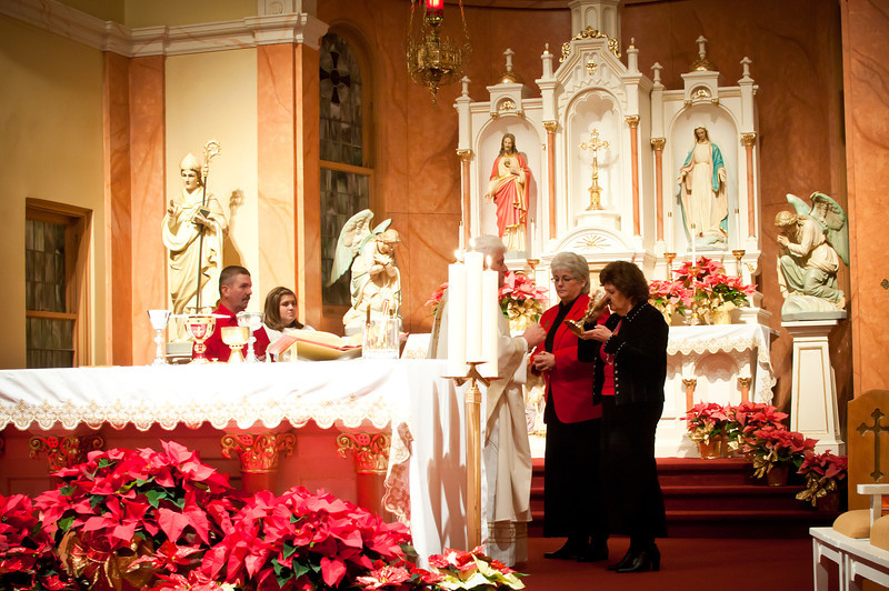 Midnight Mass At St. Stanislaus In Chappell Hill