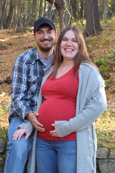 Sarah and Chris maternity