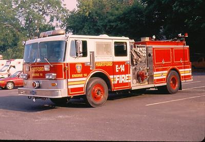 Former Hartford, Ct Fire Apparatus
