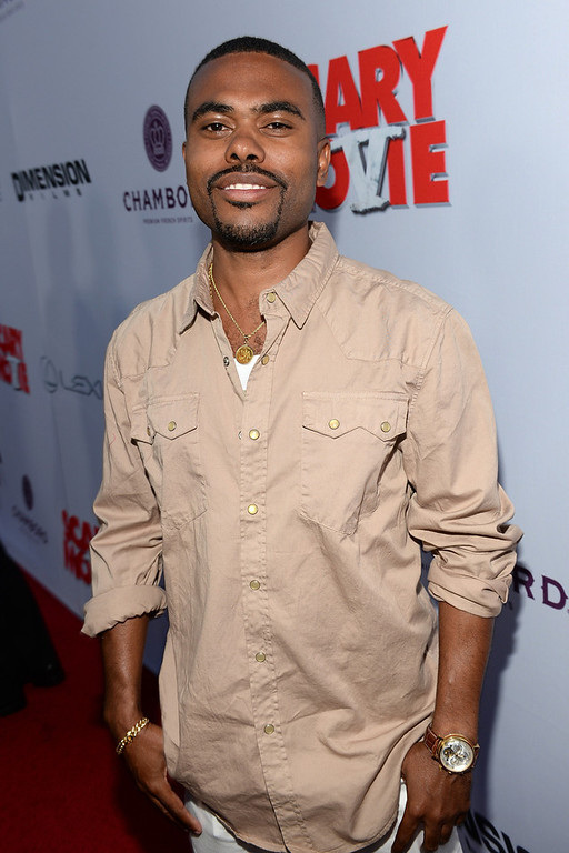 ". Actor Lil Duval arrives for the premiere of Dimension Films\' ""Scary Movie 5\"" at ArcLight Cinemas Cinerama Dome on April 11, 2013 in Hollywood, California.  (Photo by Michael Buckner/Getty Images)"