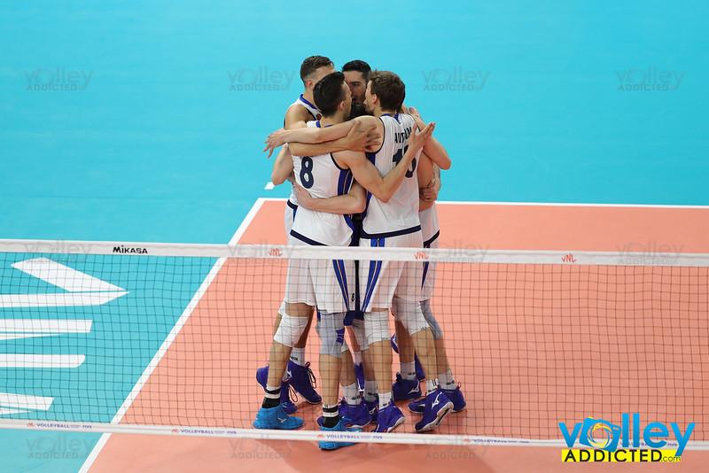 Italia 1 - Argentina 3 Volley Nations League Men 2019 Allianz Cloud, Milano, 22/06/2019