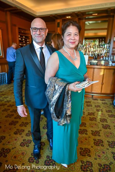 Michael Norwood and Maria Villanueva