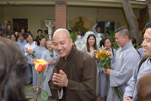 2015 Thay Thich Phap Hoa in S. California