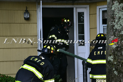 East Meadow F.D. House Fire 1464 Plum Lane 9-1-14
