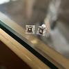 1.47ctw Carre Cut Diamond Pair GIA F VS2 14