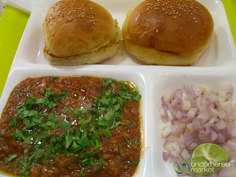 Pav Bhaji in Kolkata, India