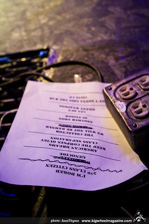 Cock Sparrer - The Forgotten - NASA Space Universe - Backstage Bar - Las Vegas, NV - May 25, 2014