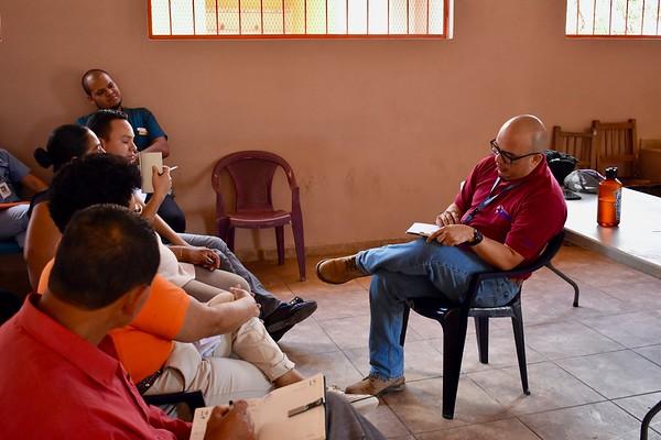 M&E Team, RNA, El Calvario, San Buenaventura, 08/2018