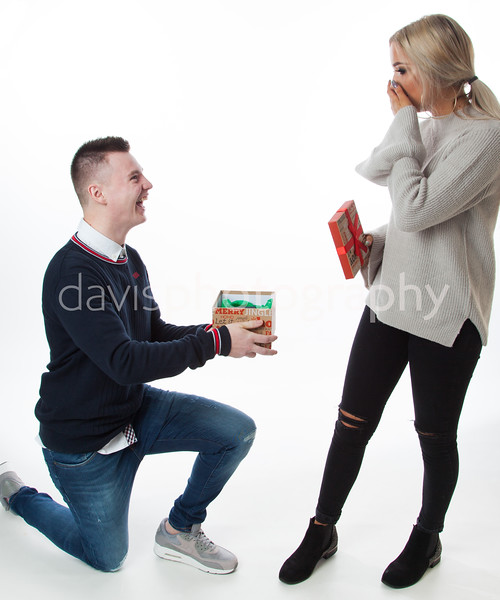 Stephen and Cora Surprise Proposal
