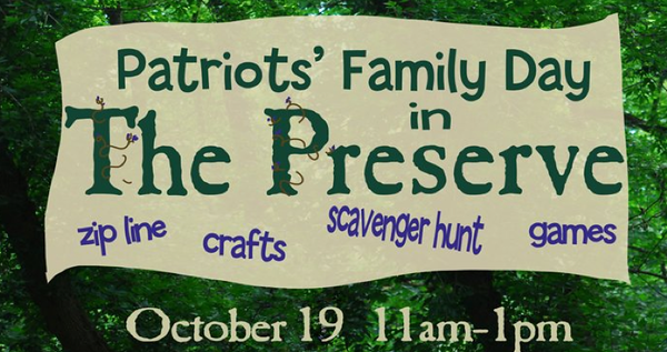 Patriots' Family Day in The Preserve