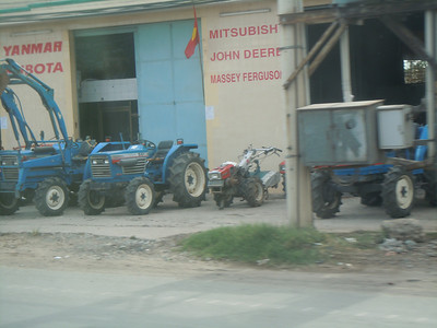 Tractors in Vietnam