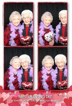 Happy Valentines at the Delaney with the Visiting Angels