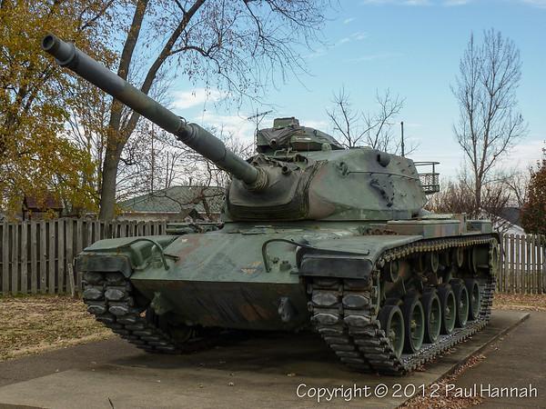 American Legion Post 81- Leitchfield, KY - M60A3