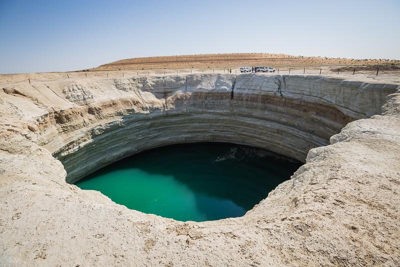 Water Crater, Karakum desert, Turkmenistan