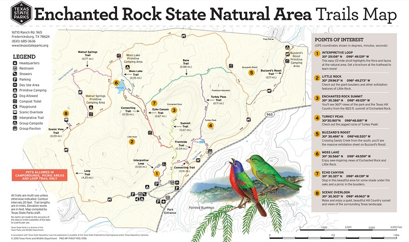 Enchanted Rock State Natural Area (Trails)