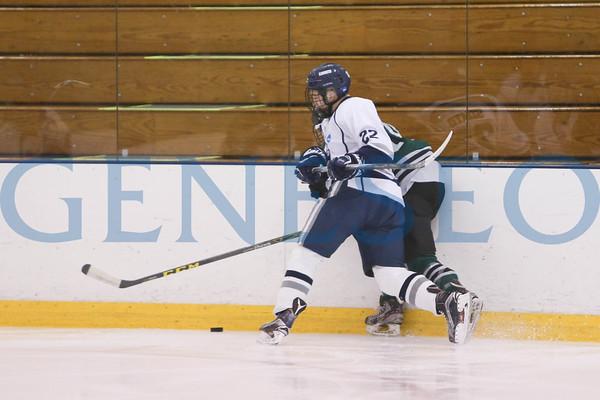 Men's Ice Hockey vs. Stevenson (Photos by Ben Gajewski)