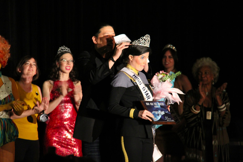 Winner of the pageant was this Vulcan lady!  Congrats!