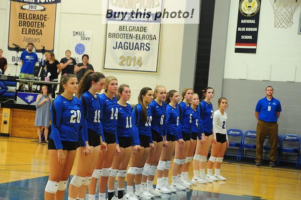 BBE volleyball v. Paynesville 09-13