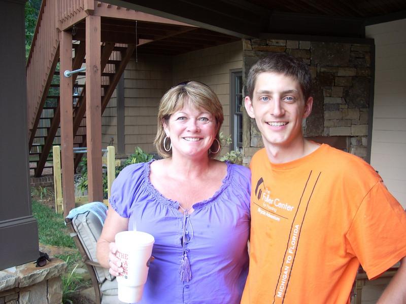 09 08-03 Ryan Iafigiola with Debbie Galey of McDonough, GA lb