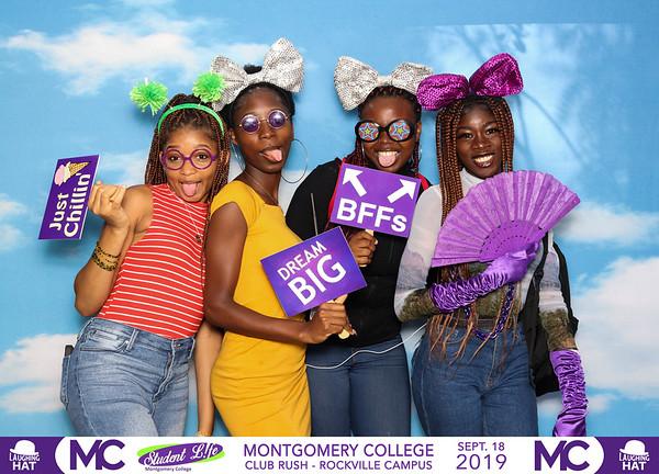 Montgomery College Club Rush