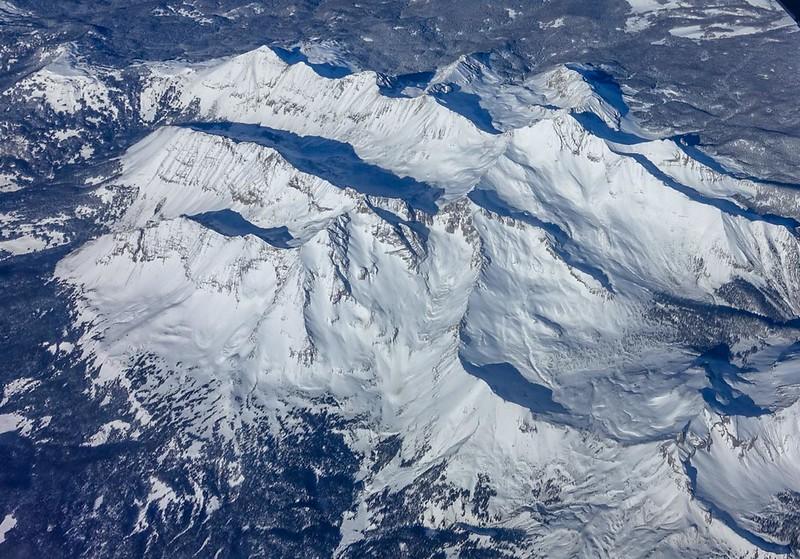 Three Fourteeners: El Diente, Mt. Wilson and Wilson Peak
