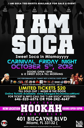 10/05/12 I Am Soca Miami