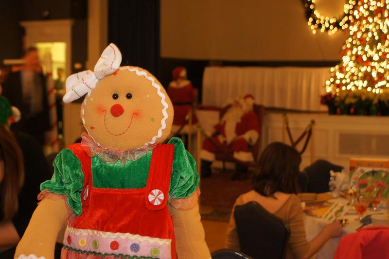 Gingerbread Santa