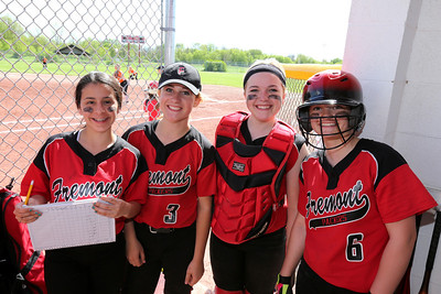 Girls JV Softball - 5/22/2014 Ludington