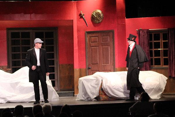 '19 Berkshire Fall Play- The Game's Afoot