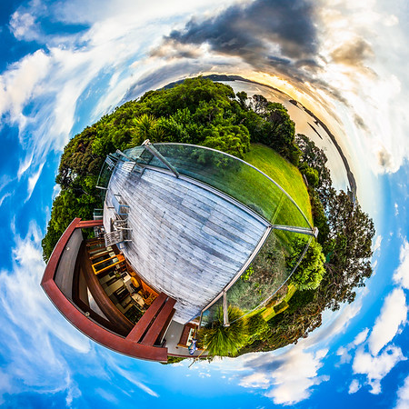 Rawhiti Inlet Tiny Planet Photos
