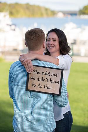 Charlevoix, Michigan Wedding Engagement Amy + Simon