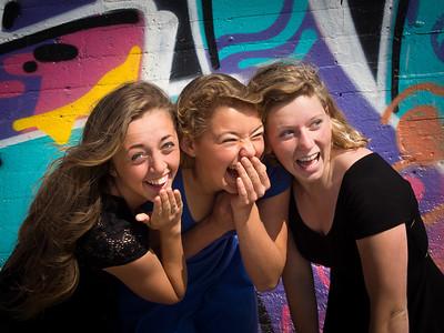 Sarah, Jess, & Kadie