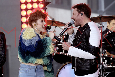 "New York, NY - September 17:  Duran Duran performs on NBC ""Today"" Concert Series, New York, USA."