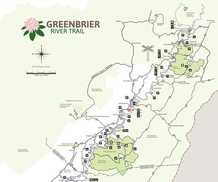 Greenbrier River Trail (Pocahontas County Section)