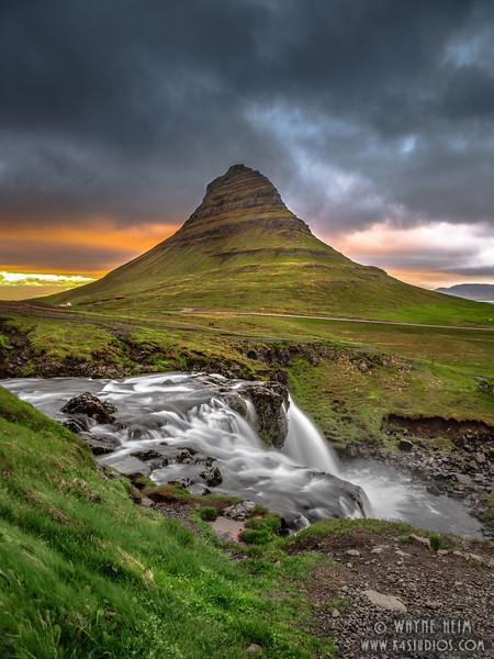 Kirkjufells Mountain  Photography by Wayne Heim