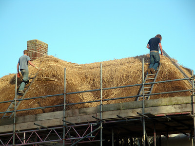 2010-Creek Cottage Thatch  Replacement, Essex
