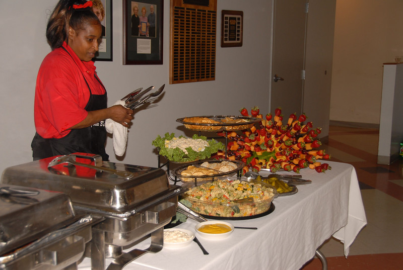 Jodey Catering is always fresh and arranged looking good.