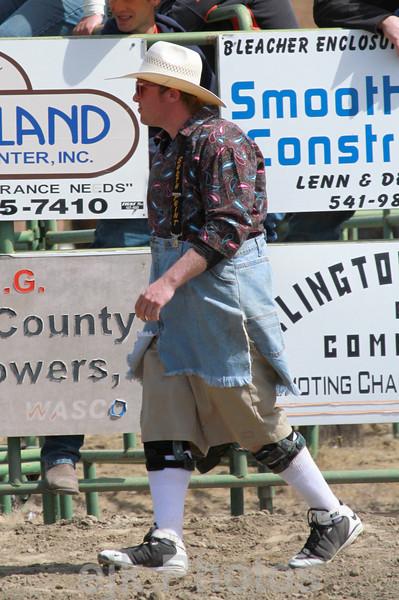Bull Riding/Arlington Jackpot Rodeo 2011