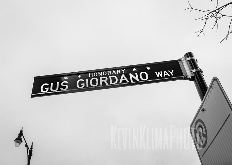 Honorary Gus Giordano Way