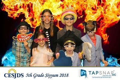 Charles E. Smith Jewish Day School 5th Grade Siyyum 2018