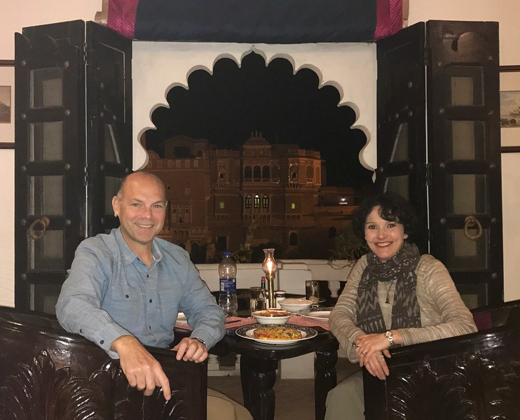 Dinner at the Palace - Deogarh Mahal