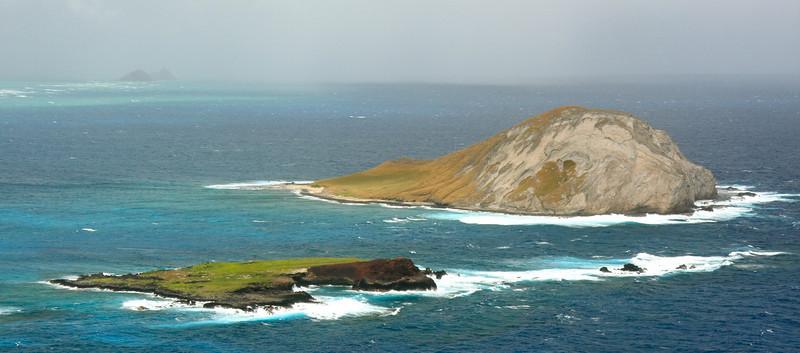 At Makapu'u Lookout, Rabbit and Kaohi-ka-ipu Islands