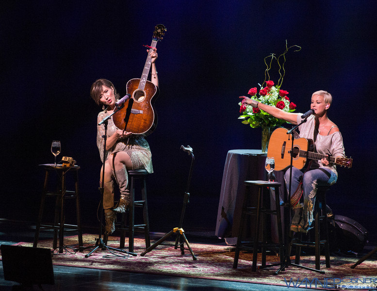 Pam Tillis and Lorrie Morgan at The Smith Center