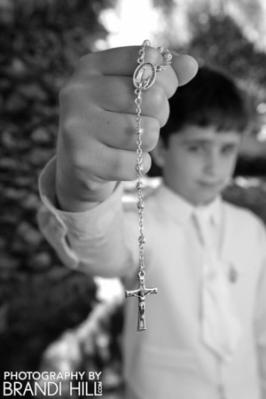 Christopher's First Communion